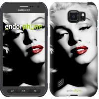 Чехол для Samsung Galaxy S6 active G890 Мэрилин Монро 2370u-331