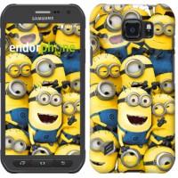 Чехол для Samsung Galaxy S6 active G890 Миньоны 8 860u-331