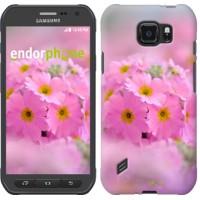 Чехол для Samsung Galaxy S6 active G890 Розовая примула 508u-331