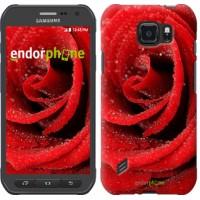 Чехол для Samsung Galaxy S6 active G890 Красная роза 529u-331
