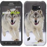 Чехол для Samsung Galaxy S6 active G890 Бегущий волк 826u-331