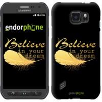 Чехол для Samsung Galaxy S6 active G890 Верь в свою мечту 3748u-331