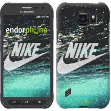 Чехол для Samsung Galaxy S6 active G890 Water Nike 2720u-331