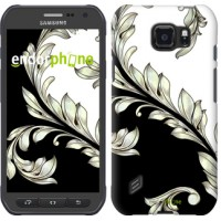 Чехол для Samsung Galaxy S6 active G890 White and black 1 2805u-331