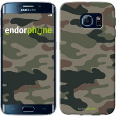 Чехол для Samsung Galaxy S6 Edge G925F Камуфляж v3 1097c-83