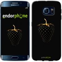 Чехол для Samsung Galaxy S6 Edge G925F Черная клубника 3585c-83