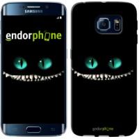 Чехол для Samsung Galaxy S6 Edge G925F Чеширский кот 689c-83