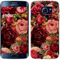 Чехол для Samsung Galaxy S6 Edge G925F Цветущие розы 2701c-83