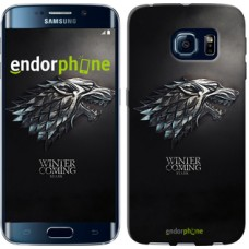 Чехол для Samsung Galaxy S6 Edge G925F Game of thrones. Stark House 1120c-83