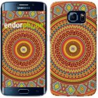 Чехол для Samsung Galaxy S6 Edge G925F Индийский узор 2860c-83