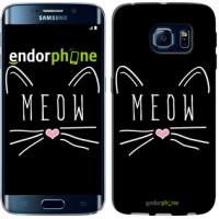 Чехол для Samsung Galaxy S6 Edge G925F Kitty 3677c-83