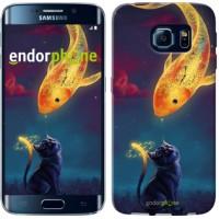 Чехол для Samsung Galaxy S6 Edge G925F Кошкин сон 3017c-83