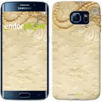 Чехол для Samsung Galaxy S6 Edge G925F Кружевной орнамент 2160c-83