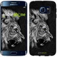 Чехол для Samsung Galaxy S6 Edge G925F Лев 1080c-83
