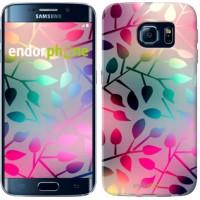 Чехол для Samsung Galaxy S6 Edge G925F Листья 2235c-83
