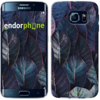 Чехол для Samsung Galaxy S6 Edge G925F Листья v3 3328c-83