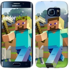 Чехол для Samsung Galaxy S6 Edge G925F Minecraft 4 2944c-83