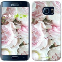 Чехол для Samsung Galaxy S6 Edge G925F Пионы v2 2706c-83