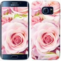 Чехол для Samsung Galaxy S6 Edge G925F Розы 525c-83
