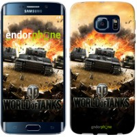 Чехол для Samsung Galaxy S6 Edge G925F World of tanks v1 834c-83