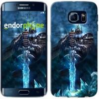 Чехол для Samsung Galaxy S6 Edge G925F World of Warcraft. King 644c-83