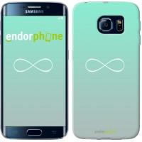 Чехол для Samsung Galaxy S6 Edge G925F Знак бесконечности 3204c-83
