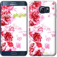 Чехол для Samsung Galaxy S6 Edge Plus G928 Нарисованные розы 724u-189