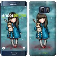 Чехол для Samsung Galaxy S6 Edge Plus G928 Девочка с зайчиком 915u-189
