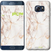 Чехол для Samsung Galaxy S6 Edge Plus G928 Белый мрамор 3847u-189