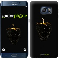 Чехол для Samsung Galaxy S6 Edge Plus G928 Черная клубника 3585u-189