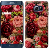 Чехол для Samsung Galaxy S6 Edge Plus G928 Цветущие розы 2701u-189