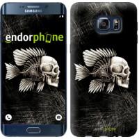 Чехол для Samsung Galaxy S6 Edge Plus G928 Рыбо-человек 683u-189