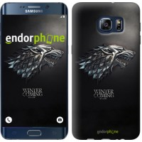 Чехол для Samsung Galaxy S6 Edge Plus G928 Game of thrones. Stark House 1120u-189