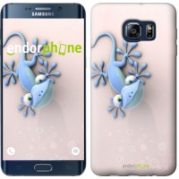Чехол для Samsung Galaxy S6 Edge Plus G928 Гекончик 1094u-189