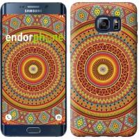 Чехол для Samsung Galaxy S6 Edge Plus G928 Индийский узор 2860u-189