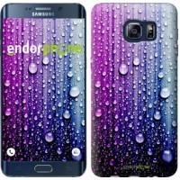 Чехол для Samsung Galaxy S6 Edge Plus G928 Капли воды 3351u-189