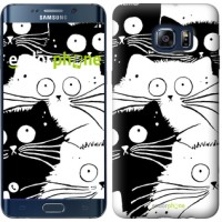Чехол для Samsung Galaxy S6 Edge Plus G928 Коты v2 3565u-189