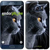 Чехол для Samsung Galaxy S6 Edge Plus G928 Красивый кот 3038u-189