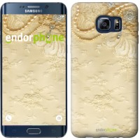 Чехол для Samsung Galaxy S6 Edge Plus G928 Кружевной орнамент 2160u-189