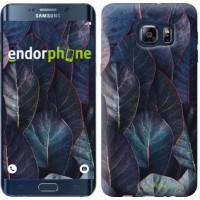 Чехол для Samsung Galaxy S6 Edge Plus G928 Листья v3 3328u-189