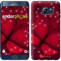 Чехол для Samsung Galaxy S6 Edge Plus G928 Лунная бабочка 1663u-189