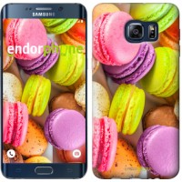 Чехол для Samsung Galaxy S6 Edge Plus G928 Макаруны 2995u-189