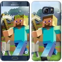 Чехол для Samsung Galaxy S6 Edge Plus G928 Minecraft 4 2944u-189