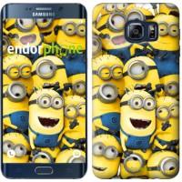 Чехол для Samsung Galaxy S6 Edge Plus G928 Миньоны 8 860u-189