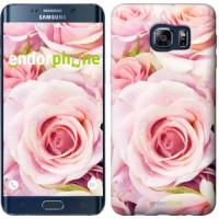 Чехол для Samsung Galaxy S6 Edge Plus G928 Розы 525u-189