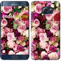 Чехол для Samsung Galaxy S6 Edge Plus G928 Розы и пионы 2875u-189