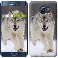 Чехол для Samsung Galaxy S6 Edge Plus G928 Бегущий волк 826u-189
