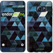 Чехол для Samsung Galaxy S6 Edge Plus G928 Треугольники 2859u-189
