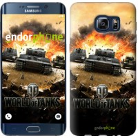 Чехол для Samsung Galaxy S6 Edge Plus G928 World of tanks v1 834u-189