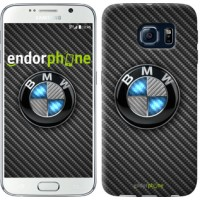 Чехол для Samsung Galaxy S6 G920 BMW. Logo v3 3109c-80